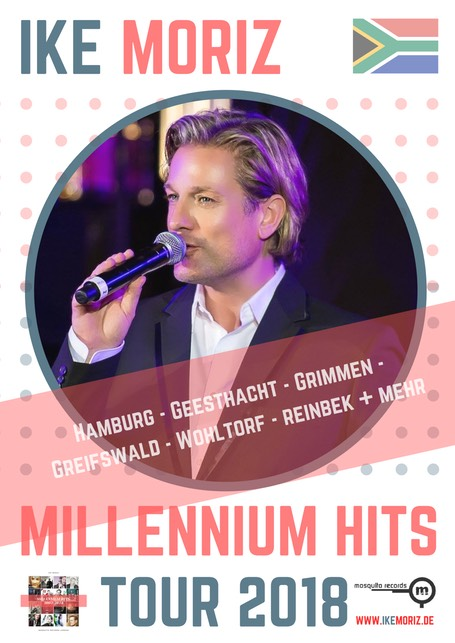 Ike Moriz Millennium Hits Tour 2018 Germany pop blues rock swing jazz latin